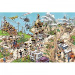 Jumbo-02086 Jigsaw Puzzle Jan Van Haasteren 1,500 Pieces - The Tour de France