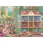 Puzzle  Jumbo-11276 Doll House Memories