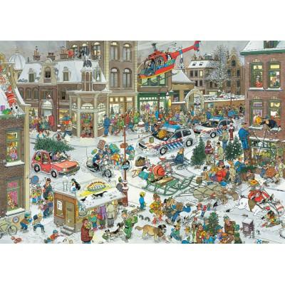 Jumbo-13007 Jigsaw Puzzle - 1000 Pieces - Jan Van Haasteren : Christmas