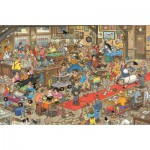 Jumbo-13035 Jigsaw Puzzle - 1000 Pieces - Jan Van Haasteren - Canine Competitions