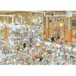 Jumbo-13049 Jigsaw Puzzle - 1000 Pieces - Jan van Haasteren - In the Kitchen
