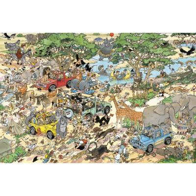Jumbo-17016 Jigsaw Puzzle - 1500 Pieces - Jan Van Haasteren : Safari
