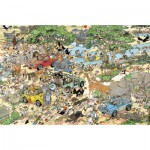 Jumbo-17016 Jigsaw Puzzle - 1500 Pieces - Jan Van Haasteren : Safari