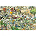 Jumbo-17077 Jigsaw Puzzle - 1500 Pieces - Jan Van Haasteren : The Farm