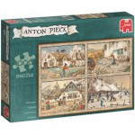 Puzzle  Jumbo-17093 Pieck Anton: 4 Seasons