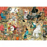 Jumbo-17160 Jigsaw Puzzle - 150 Pieces - Jan van Haasteren: Artists