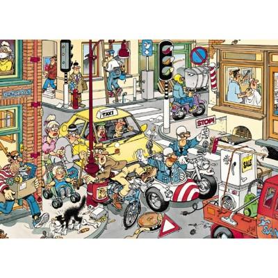 Jumbo-17161 Jigsaw Puzzle - 150 Pieces - Jan Van Haasteren: Give Way