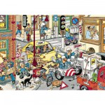 Jumbo-17161 Jigsaw Puzzle - 150 Pieces - Jan Van Haasteren: Give Way