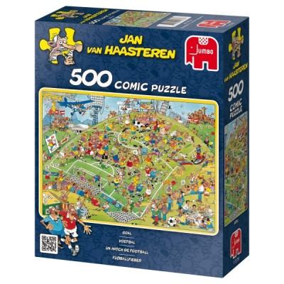 Puzzle Jumbo-17276 Jan van Haasteren: A football match