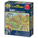 Puzzle  Jumbo-17276 Jan van Haasteren: A football match