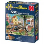 Puzzle  Jumbo-17277 Van Haasteren Jan: Catch me this cat