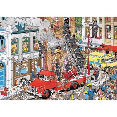 Puzzle Jumbo-17279 Van Haasterne Jan: Alert to fire