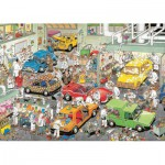 Puzzle  Jumbo-17281 Van Haasteren: The workshop of automotive paint