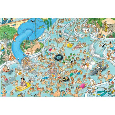 Puzzle Jumbo-17314 Jan Van Haasteren - Swimming