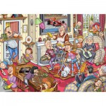 Puzzle  Jumbo-17406 Wasgij Mystery 10 - The spring fever