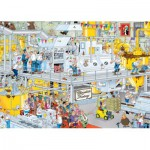 Puzzle  Jumbo-17452 Van Haasteren Jan: the Chocolate factory