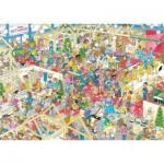 Puzzle  Jumbo-17453 Van Haasteren Jan: The winter fair