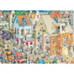 Puzzle  Jumbo-17461 Van Haasteren Jan : Building Site