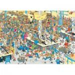 Puzzle  Jumbo-17467 Van Haasteren Jan : Queued Up!