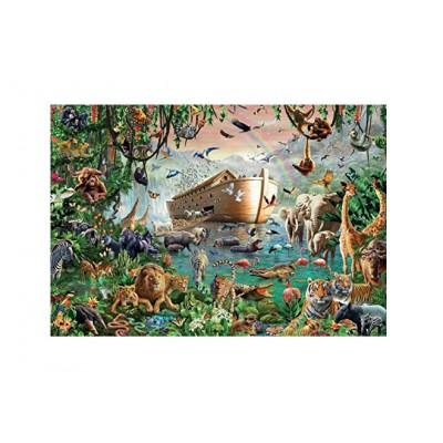 puzzle noah 39 s ark jumbo 18326 3000 pieces jigsaw puzzles religions and mysticism jigsaw puzzle. Black Bedroom Furniture Sets. Home Design Ideas