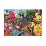 Puzzle  Jumbo-18328 Colibri's Garden