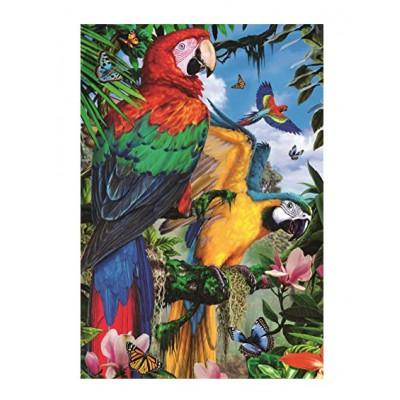 Puzzle Jumbo-18330 Pretty Parrots
