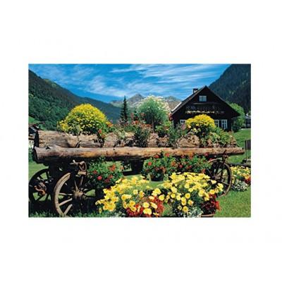 Puzzle Jumbo-18335 Alpine Flowers