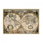 Puzzle  Jumbo-18345 World Map from 1630