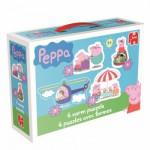 Jumbo-18471 4 Jigsaw Puzzles - Peppa Pig