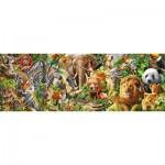 Puzzle  Jumbo-18518 African Wildlife