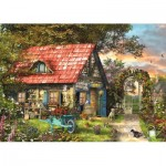 Puzzle  Jumbo-18529 XXL Pieces - Garden Shed