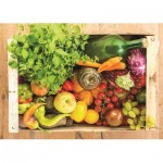 Puzzle  Jumbo-18531 Fruits and Vegetables
