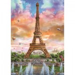 Puzzle  Jumbo-18533 Eiffel Tower, Paris
