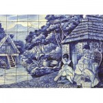Puzzle  Jumbo-18534 Portuguese Tiles from Funchal