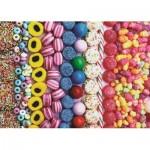 Puzzle  Jumbo-18536 Sweets