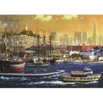 Puzzle  Jumbo-18552 Port of San Francisco, USA