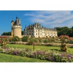 Puzzle  Jumbo-18555 Castle of the Loire, France