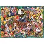 Puzzle  Jumbo-18568 Kingdom of Animals