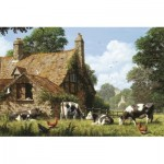 Puzzle  Jumbo-18579 Cows in a Farm