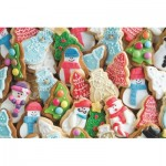 Puzzle  Jumbo-18581 Christmas Biscuits
