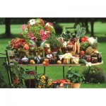 Puzzle  Jumbo-18582 Fruit and Vegetables