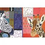 Puzzle  Jumbo-18585 Eugen Stross - African Art
