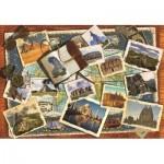 Puzzle  Jumbo-18588 Wonders of the World