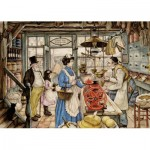 Puzzle  Jumbo-18599 XXL Pieces - Anton Pieck - The Grocer