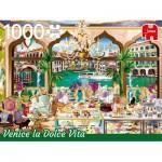 Puzzle  Jumbo-18809 Venice La Doce Vita