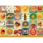 Puzzle  Jumbo-18820 Chupa Chups Vintage
