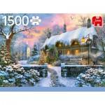 Puzzle  Jumbo-18830 Whitesmith's Cottage in Winter