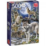 Puzzle  Jumbo-18845 Wolf Pack in Winter