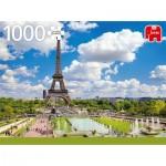 Puzzle  Jumbo-18847 Eiffel Tower in Summer