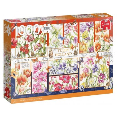 Puzzle Jumbo-18852 Tulips from holland